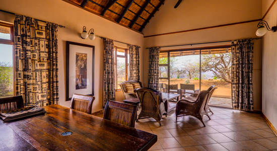 Mpila Camp 5 bed Chalets Self Catering Accommodation Hluhluwe iMfolozi Game Reserve