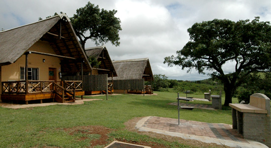 Mpila Camp 2 bed Chalets Braai area Accommodation Hluhluwe iMfolozi Game Reserve